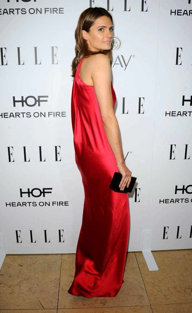 Stana Katic – ELLE's Annual Women in Television Celebration in West Hollywood