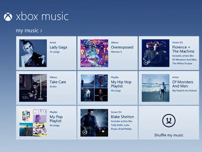 Microsoft Luncurkan Xbox Music