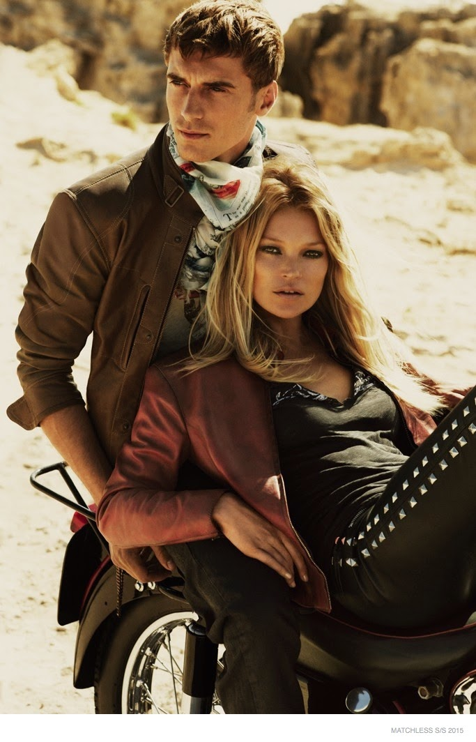 Matchless Spring/Summer 2015 Campaign featuring Kate Moss