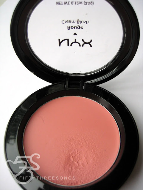 NYX Creme Blush in Natural Photos, Swatches and Review