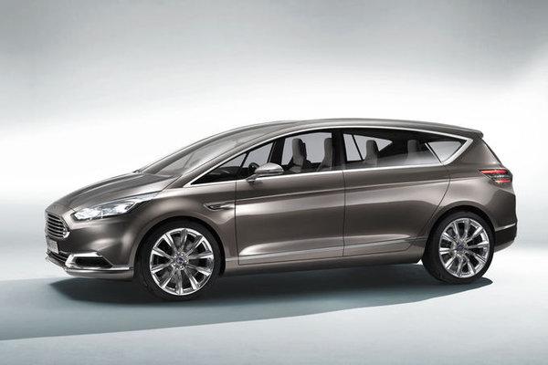 Новый Форд Смакс 2014 года