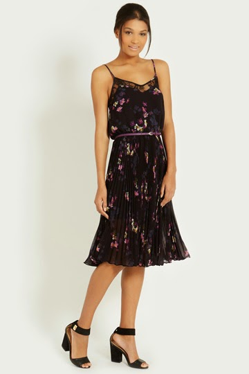oasis belted dress