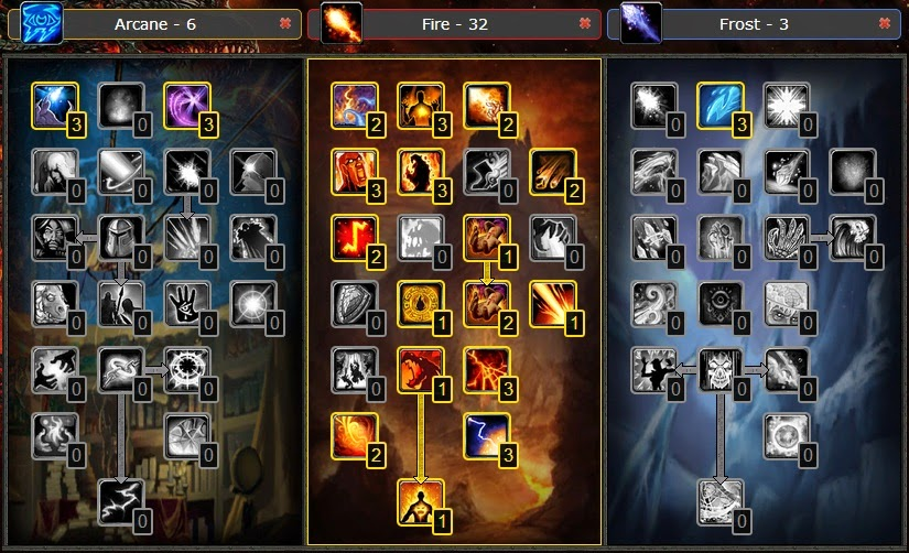 Wotlk Fire Mage Build