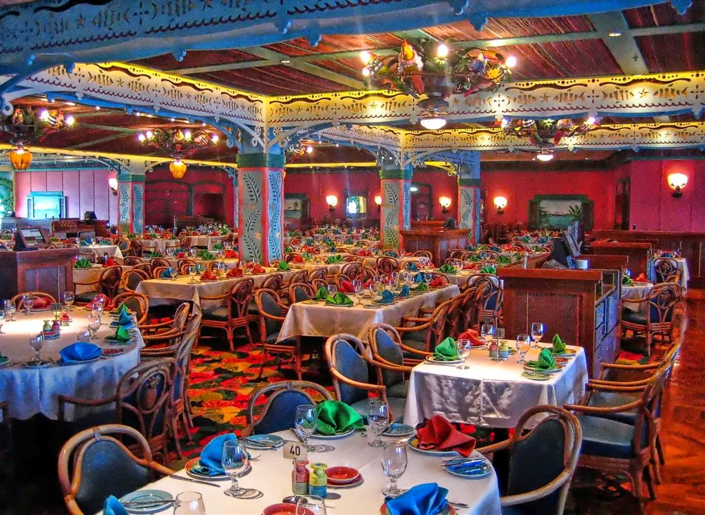 Cruzeiro Disney Wonder Restaurante