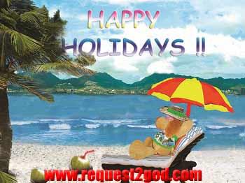 Happy Holidays Greeting Card - Happy Holiday Greeting Card- Greetings Card -Free Greeting Cards