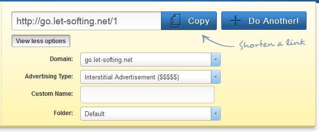 Cara Custom Domain adf.ly Dengan Subdomain Sendiri