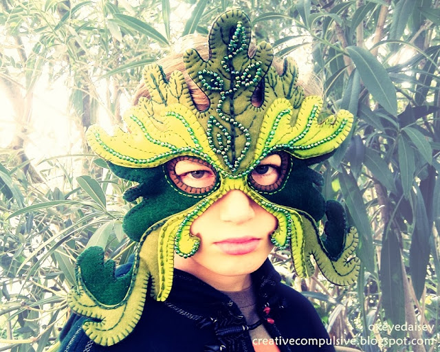 Green Man Mask