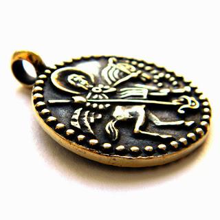 Змеевик с изображением Св.Георгия Победоносца