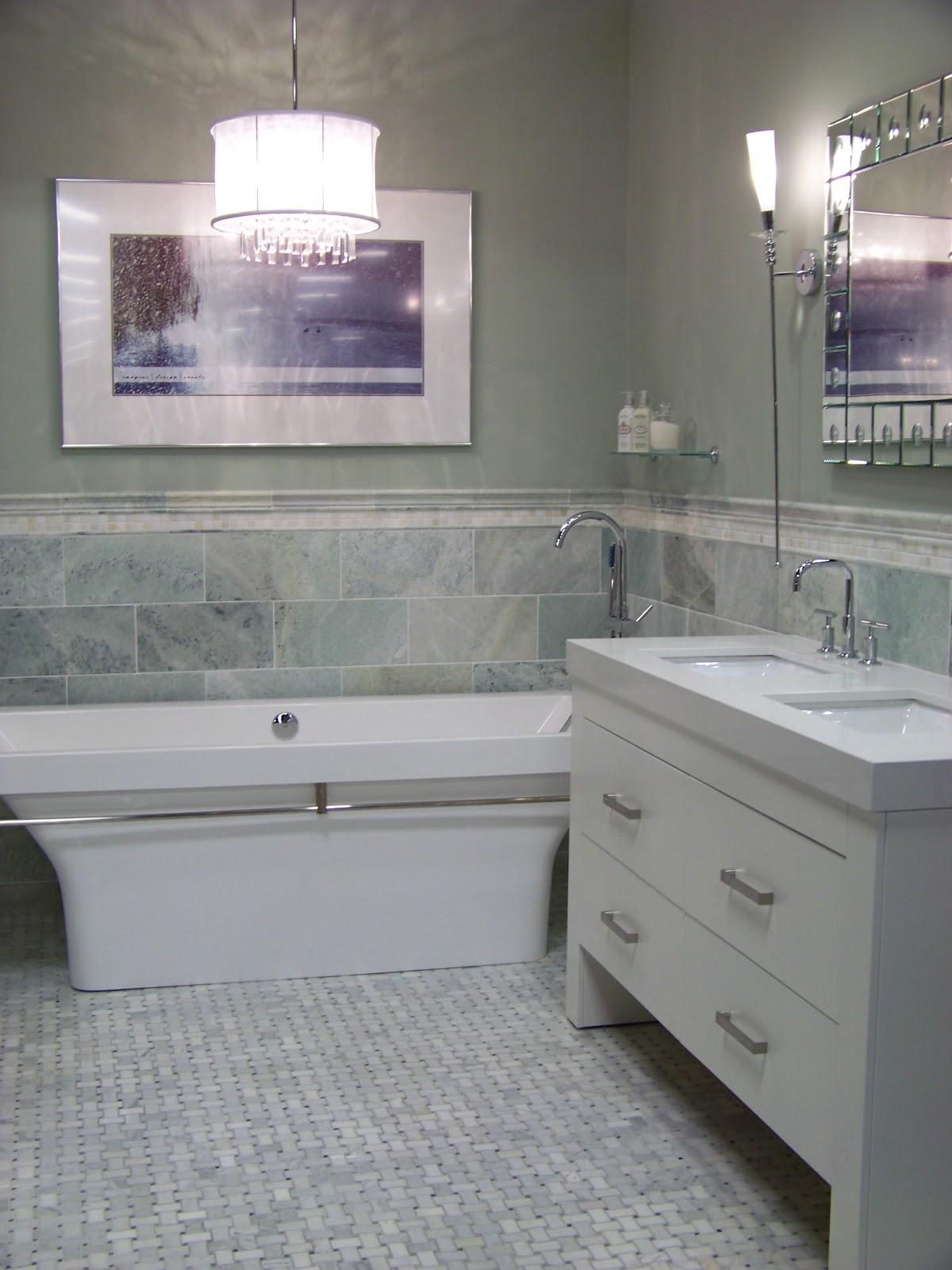 Home Decor Budgetista Bathroom Inspiration The Tile Shop - Carrara gris porcelain tile