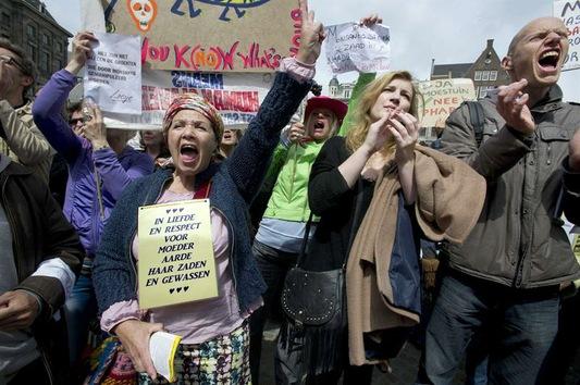 Marchas contra Monsanto por todo el mundo el 25 de Mayo 2013 Monsanto+Amsterdam