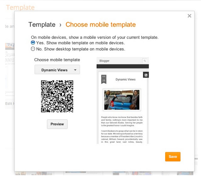 More Dynamic Mobile Reading Experience in Blogger