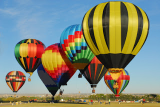 Albuquerque RV destination: International Balloon Fiesta