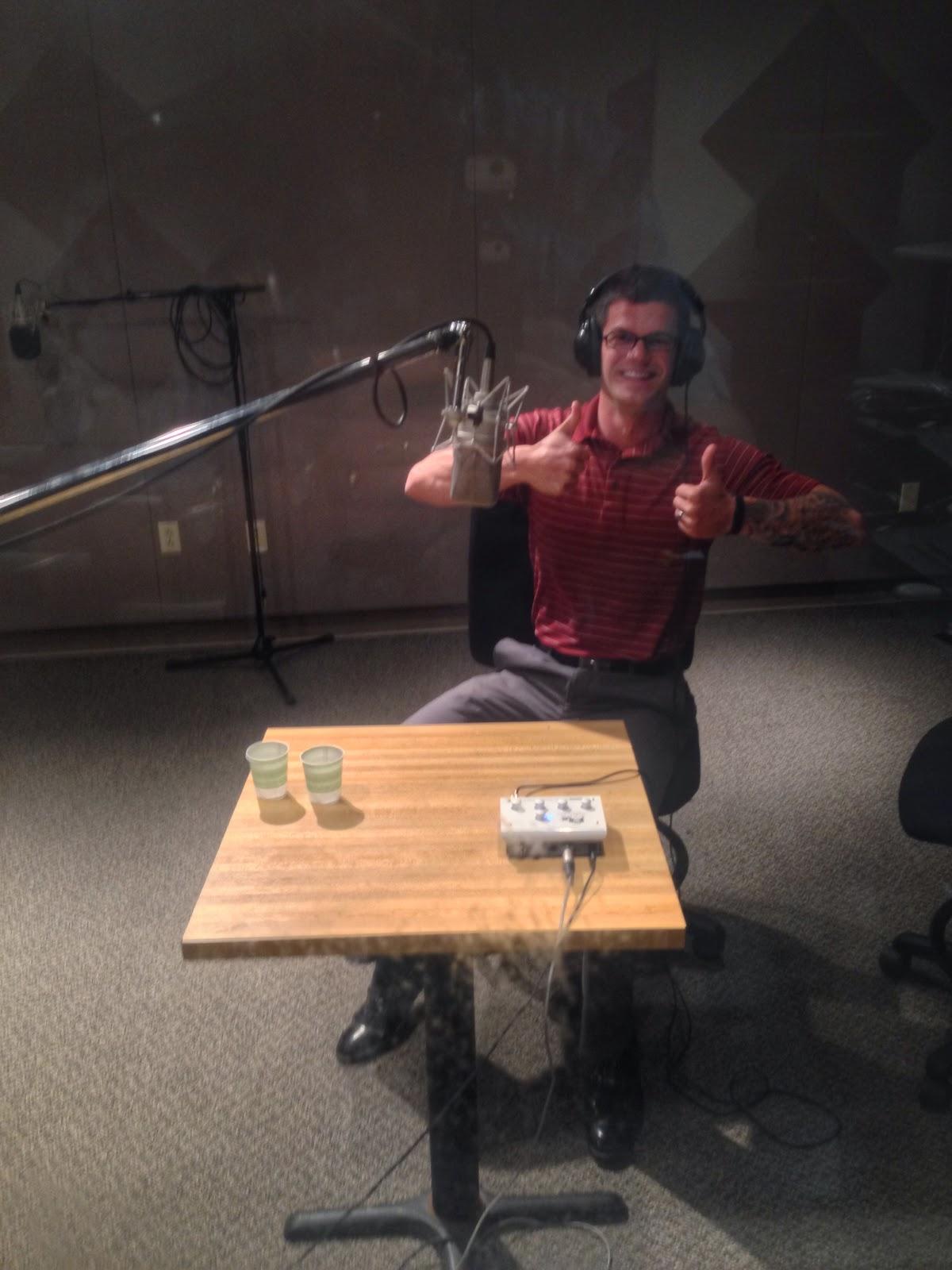public radio studio