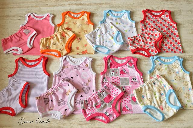 Набор белья для девочек и мальчиков