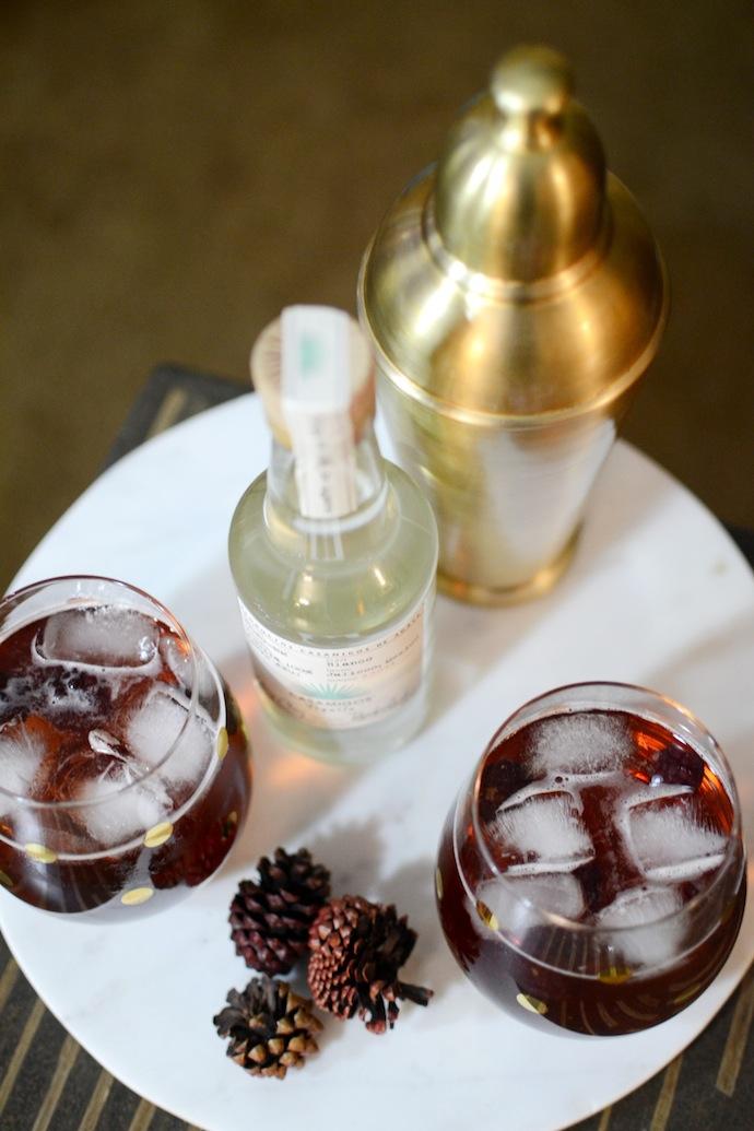 Casamigos Tequila Blanco recipe Blackberry Mule