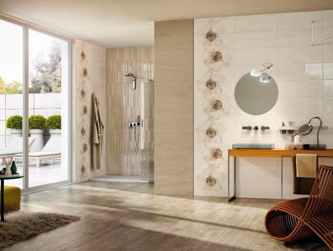 Accesorios Baño Beige:Decoración y Afinidades: Baños con paredes marrones