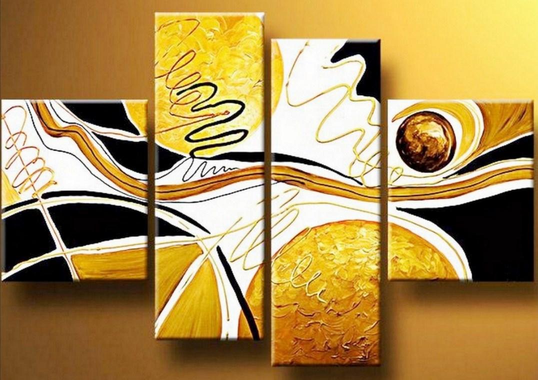 Cuadros pinturas oleos cuadros modernos abstractos - Cuadros modernos para living ...