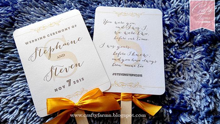 Wedding Card Malaysia   Crafty Farms Handmade : Glam Gold Wedding ...