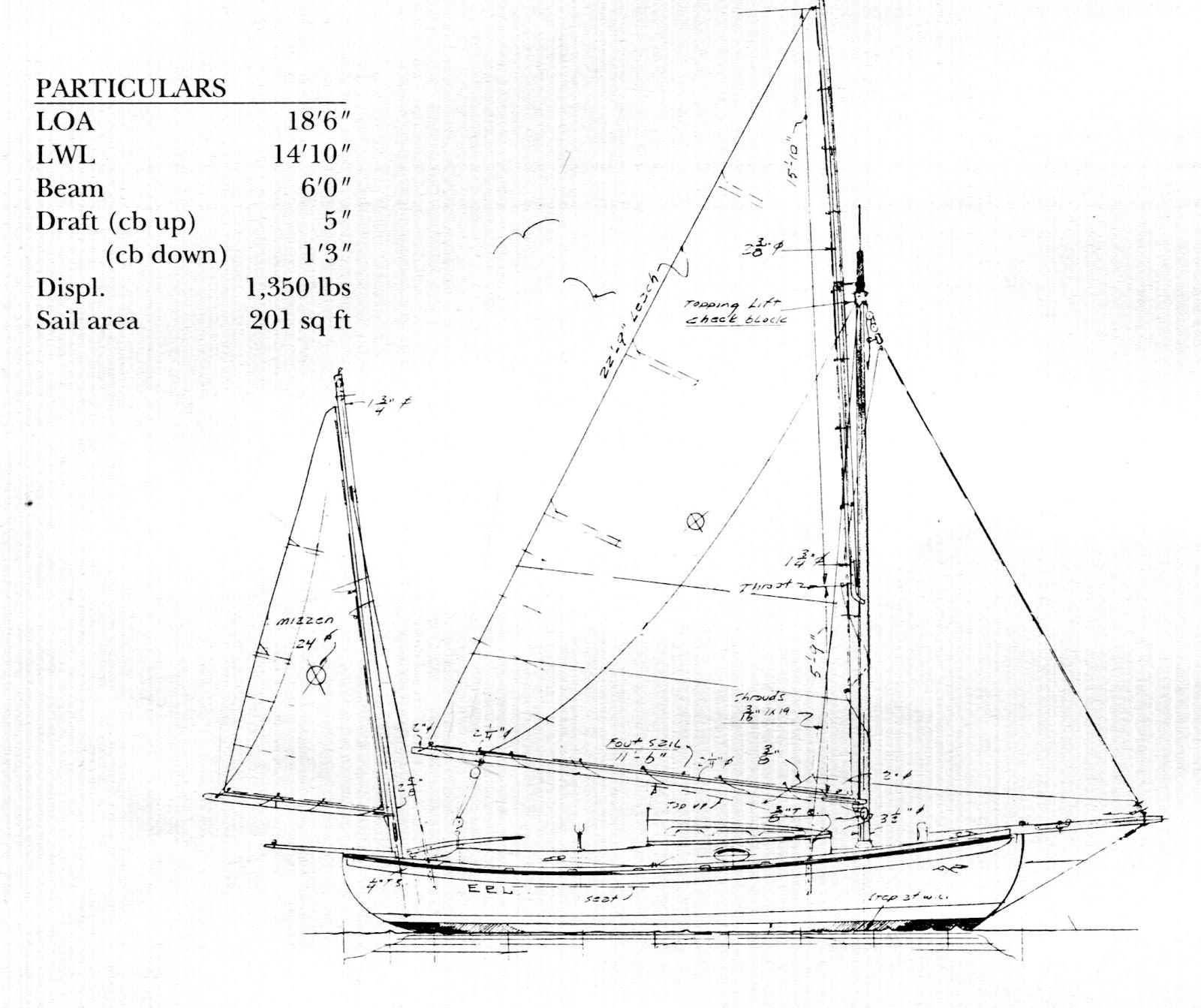 Pdf diy wooden yawl plans download woodworking plans for William garden sailboat designs