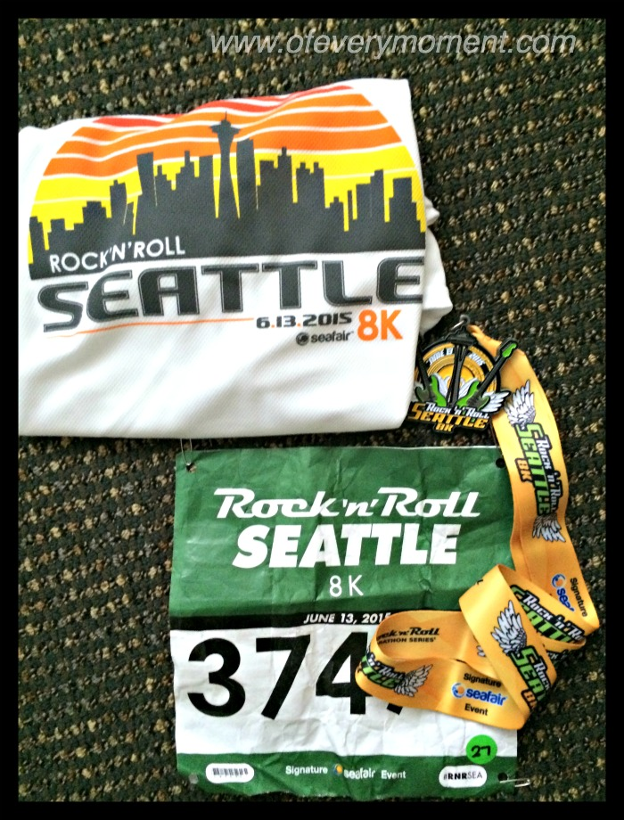 racing bib, medal, Rock'n'Roll t-shirt
