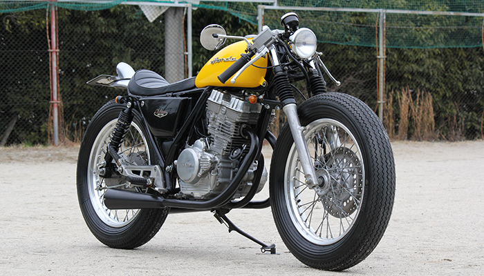Racing Caf    Honda GB 250 by Motor Garage Goods