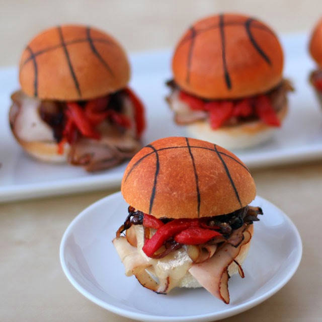 Turkey Basketball Sliders   HungryHappenings.com