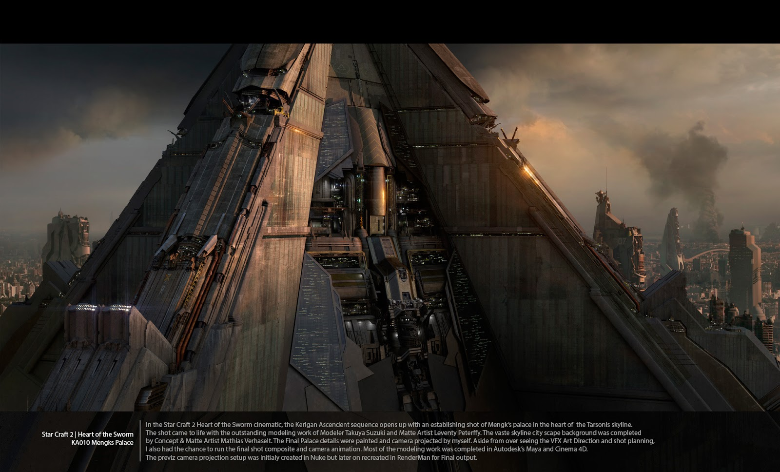 Jonathan berube 39 s matte painting works cg daily news for Space matte painting