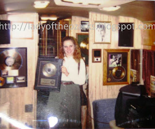 Me on Elvis's Tour Bus 1997