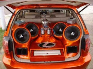 Car Accessories Stereo System and DVD System