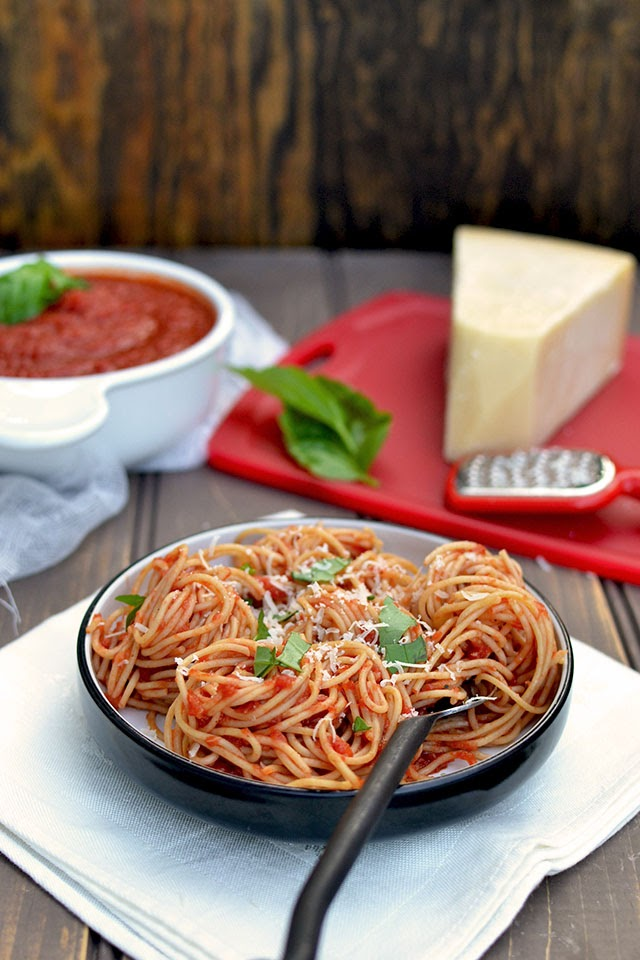 3 Ingredient Marinara Sauce