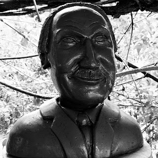 Busto de Carl Jung: psiquiatra e psicoterapeuta suíço.