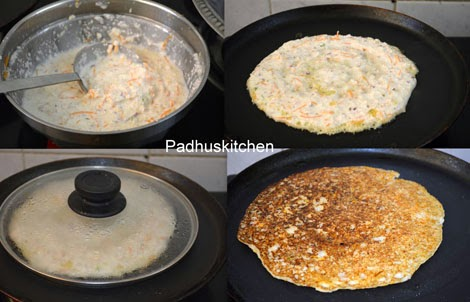 how to make oats uthappam