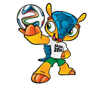 Fuleco, Mascot Official Woprld Cup Brasil 2014