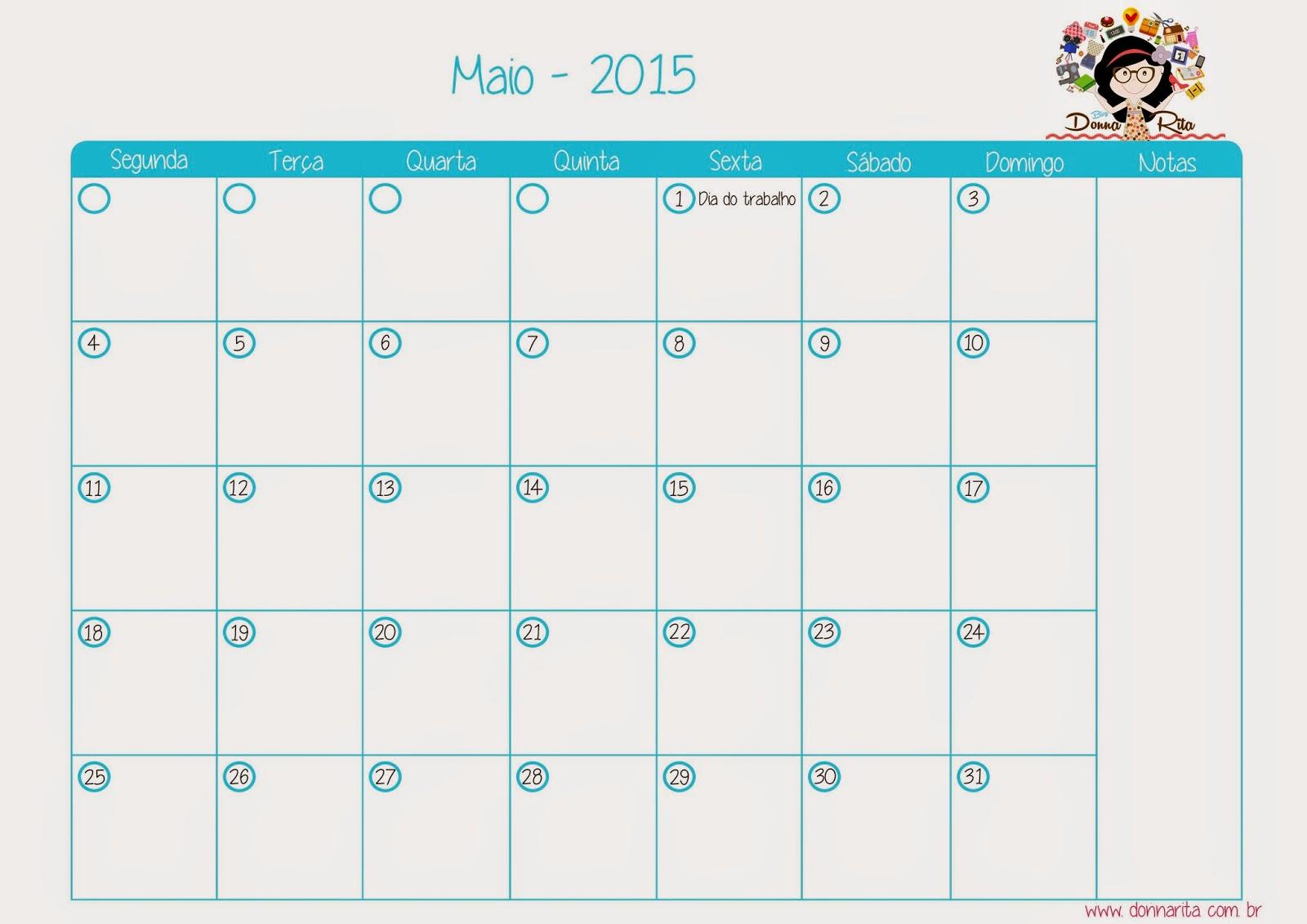 E lá se foi Abril: resumo mensal e calendário de maio para baixar
