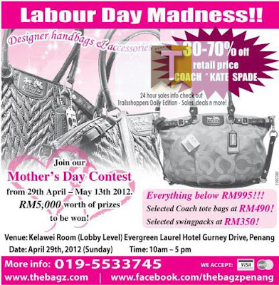 The Bagz Labour Day Madness Sale Luxury Designer Bags
