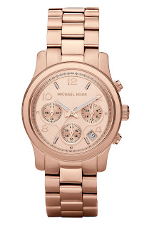 Michael Kors Runway Rose Gold Watch MK5128