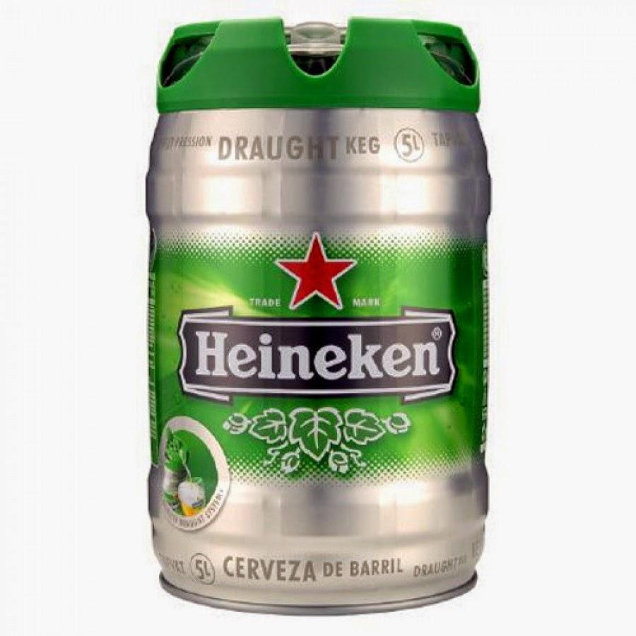 Heineken barril de 5 litros