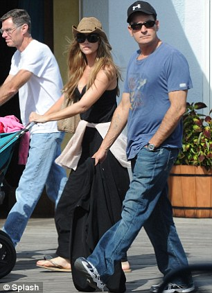 charlie sheen wife denise richards. Charlie Sheen#39;s ex wife Denise
