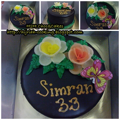 Images Of Birthday Cake With Name Simran : H2H CHOC & CAKES: Happy Birthday Simran
