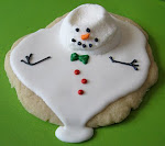 The Original Marshmallow Melted Snowman Cookie Tutorial