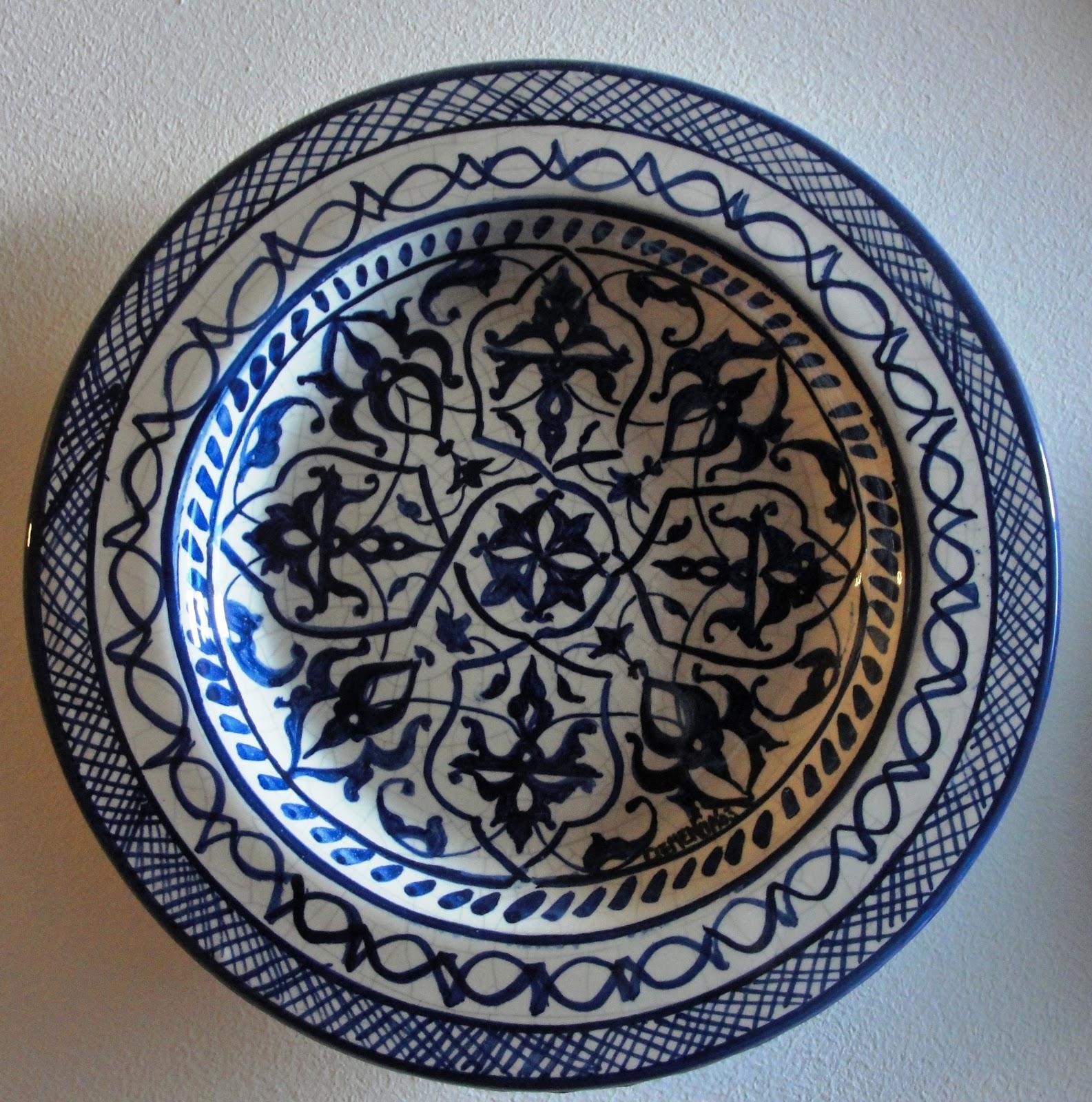 Arte y artesan a platos de ceramica - Platos ceramica colores ...