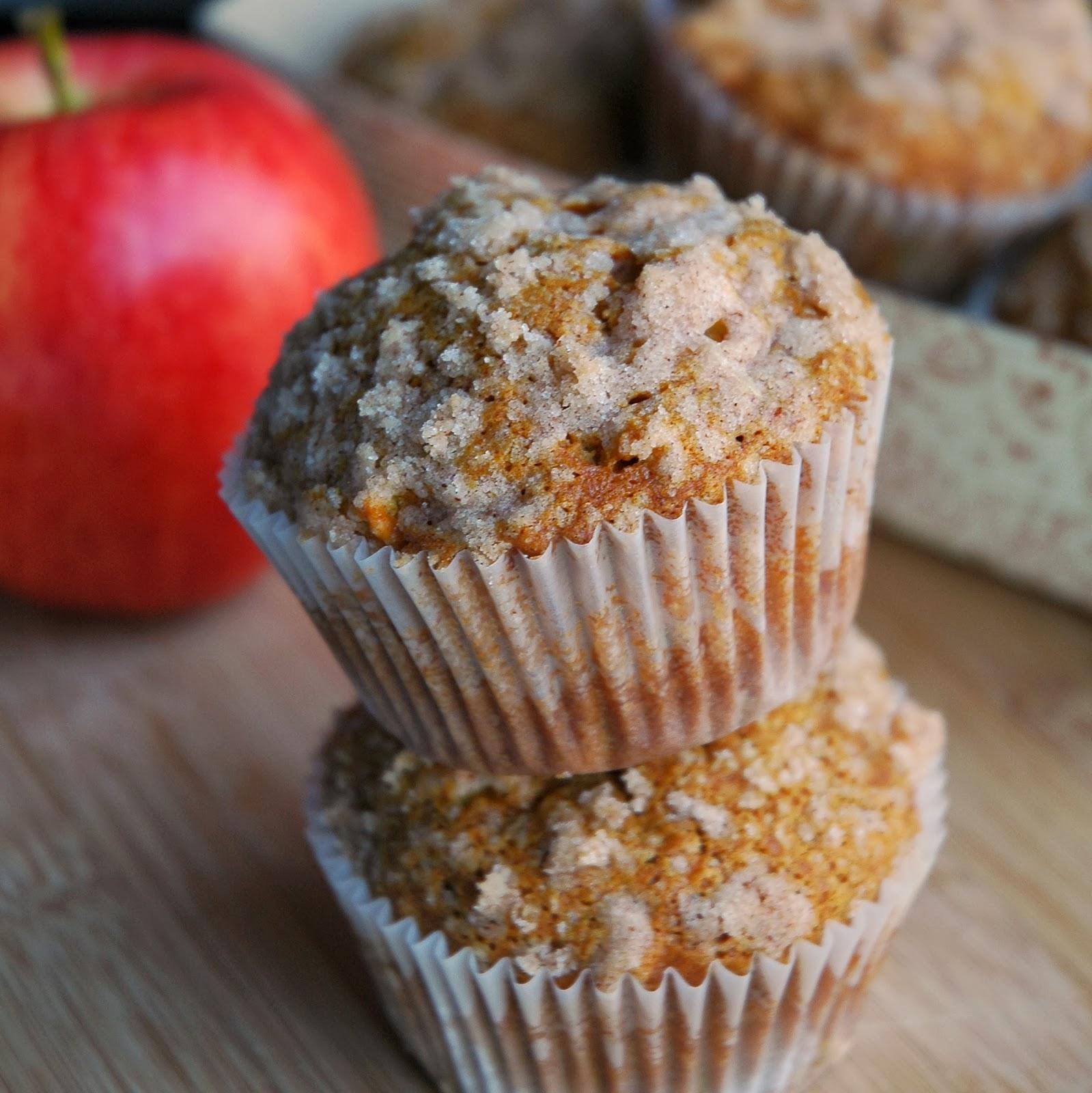 Pumpkin Apple Muffins (Bishop's Pumpkin Farm!)