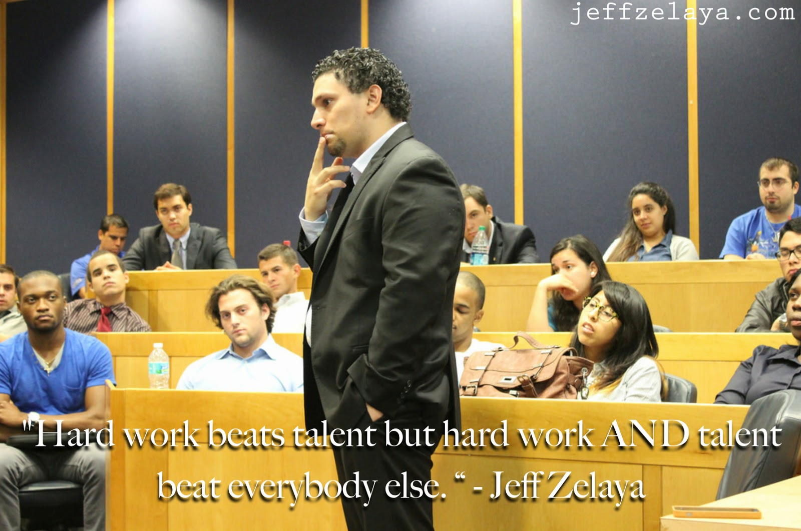 hard work beats talent quote