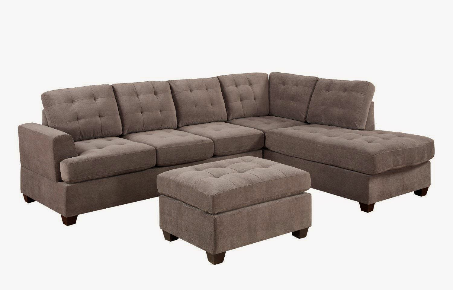 Sale off 47 for bobkona austin 3 piece reversible for Sectional sofas austin