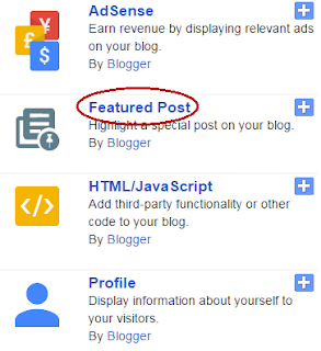 how to install blogger featured posts widget
