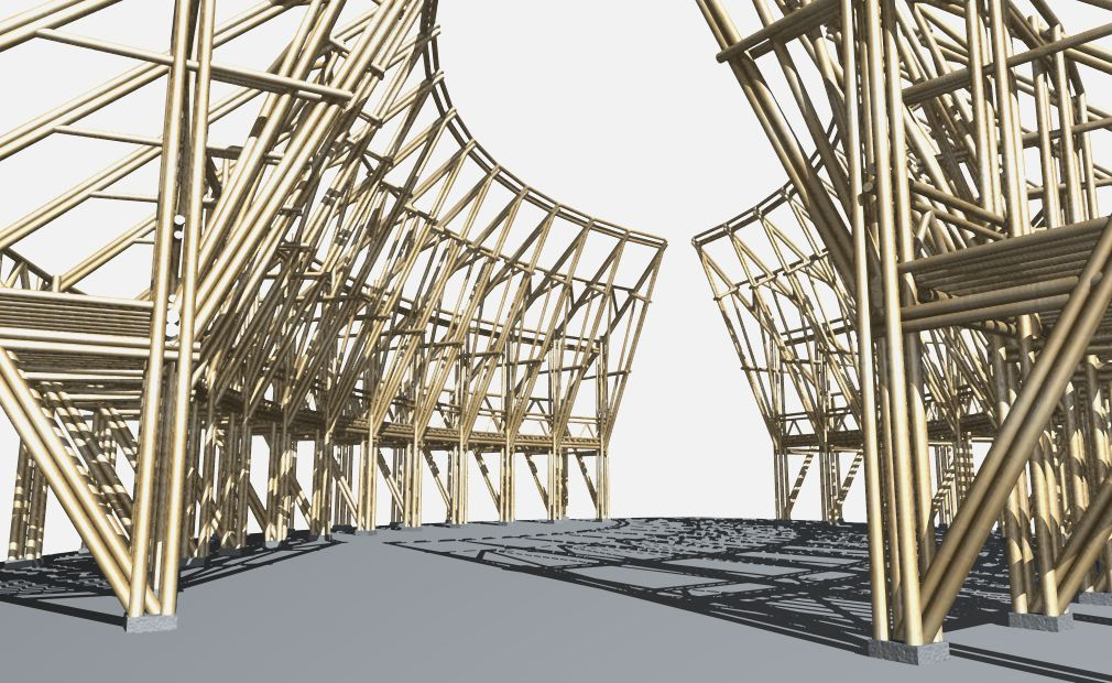 Pole Building Construction Drawing Software Joy Studio