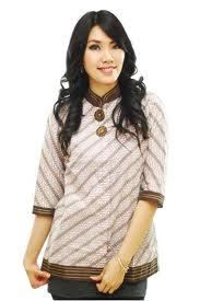 baju kemeja batik wanita terbaru