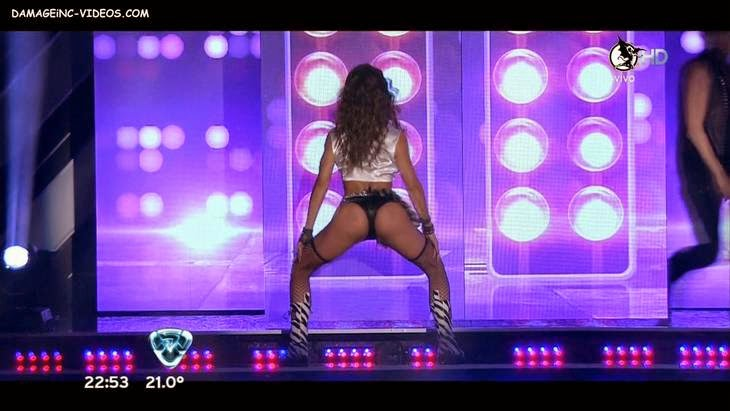 Argentina model Lourdes Sanchez twerking on HD video
