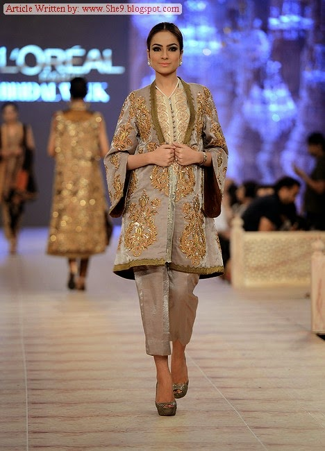 Bridal Collection at PFDC Paris Bridal Week 2014-2015