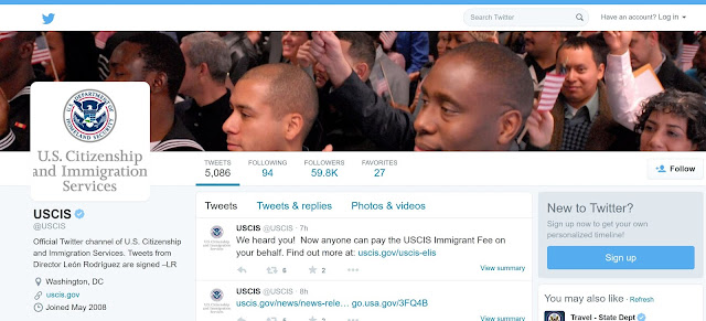 uscis on twitter | can the uscis speed up processing time with social media